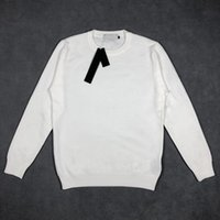 Hohe qualität designer männer pullover mode langarm pullover einfach fester o-neck beiläufige gestrickte pullover männer sportwear pullover