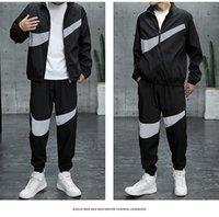 2021 Roupas Moda Mens Tracksuits Primavera Juventude Terno Esportivo Masculino Versão Coreana Tendência de estudantes do ensino médio Estudantes Casual Autumn Sweater Designer jaqueta