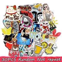 Diy Waterproof Vinyl Stickers Pack for Kids Teens Adults Home Decor Sticker Bomb Laptop Skateboard Luggage Bumper Car Decals Random GWF6781