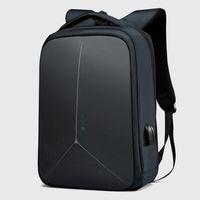 Erkekler Çok Fonksiyonlu Anti-Hırsızlık 15.6 inç Laptop Sırt Çantası Su Geçirmez USB Dizüstü Seyahat Çantası Sırt Çanta Çanta Paketi Erkek
