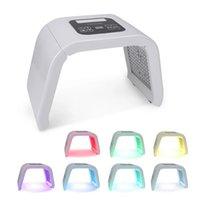 7 Renkler Işık LED IPL Yüz Maskesi Boyun Cilt Ile Gençleştirme Yüz Bakımı Tedavisi Güzellik Anti Akne Terapi Beyazlatma Enstrüman