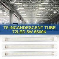 Bulbs 5W 500LM 6500K Lights Tubes LED Shop Light Daylight White Dual Shape, Hight Output, Linkable Lights, T5 Tube Lighting