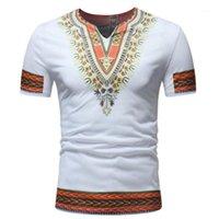 الملابس الأفريقية للرجال dashiki تصميم الذكور قصيرة الأكمام الصيف العرقية تي شيرت التقليدية البوهيمي شيرت رجالي أفريقيا الملابس 1