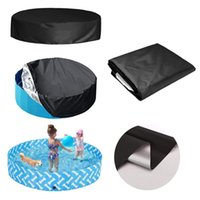 Pool & Accessories Swimming Tub Cover Round Cover,Foldable Pool, Washable Waterpoof Cover,Outdoor Bubble Blanket