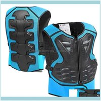 Support Safety Athletic Outdoor As Sports & Outdoorsmotorcycle Childrens Vest Off-Road Riding Protection Jacket Back Shoulder Kids Body Prot