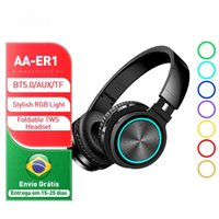 TWS Bluetooth Auricolare Blitzwolf Airaux ER1 -Compatibile Cuffie wireless senza fili HIFI Auricolare stereo Auricolare RGB HD Call TF Card