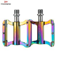 Bike Pedals Promend PD-R41 High-Strength MTB Pedal Aluminum Alloy Sealed Bearing Road For BMX Colorful Bicycle Parts