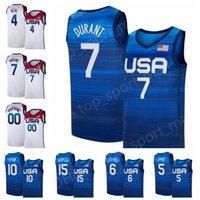 국가 대표팀 농구 저지 2020 미국 여름 올림픽 9 Jerami Grant 11 Kevin Love 13 Bam Adebayo 14 Draymond Green Jrue 휴일 Khris 미들턴 미국인 청소년