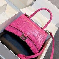 Mulheres Classic Bolsa ampulheta mensageiro sacos meninas saco crossbody tamanho 23cm designer bolsas com longa cinta muitas cores