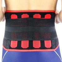 Kuangmi Waist Trimmer Ab Belt Lumbar Back Brace Support Fitness Sports Slimming