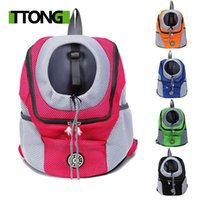 Cat Carriers,Crates & Houses Out Double Shoulder Portable Travel Backpack Outdoor Pet Dog Carrier Bag Front Mesh Head Supplies