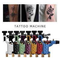 Rotary Tattoo Machine Tattoos Body Art Dragonfly Professional Hand Built Shader & Liner Assorted Tatoo Motor Gun Kits Supply