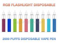AURA monouso Device VAPE Sigarette Electronic Sigarettes Kit 5ml Pods premilled 1500 Puffs Batteria ricaricabile 650mAh con RGB Flashlight Puff Bar Plus XXL