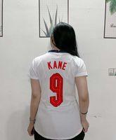 Casa Bianco Soccer Jersey Donne # 9 Kane Signora Stoccio femminile Camicia da calcio 2021 # 11 Rashford Girl Football Uniform # 10 sterling # 17 Sanche Sports Wear Abbigliamento