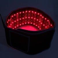 الأحزمة المحمولة التخسيس الخصر الحمراء ضوء الأشعة تحت الحمراء حزام الإغاثة آلام lllt تحلل الدهون الجسم تشكيل النحت 660nm 850nm lipo الليزر