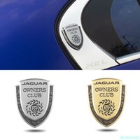 Otomobil Dekorasyon Amblem Jaguar Kulübü XE XK XJ XF XEL XFL XJL XJS XJ6 E F Pace S E Tipi XType XKR Spor Araba Vücut Sticker