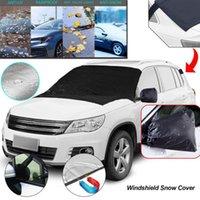 Автомобиль Sunshade Auto Windshield Snow Cover Heake Удаление льда Стеклоочиститель Стеклозащитный Защитный Стекло Защитная Срешевая Ткань