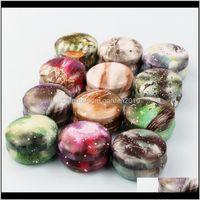 Frascos frascos jarro tinplate lata vazia lata de donut filhós handmade aroma vela fazendo acessórios mini caixa com tampa pequena decoração home wb31 tcynm