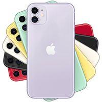 Yenilenmiş Orijinal Apple iPhone 11 iOS 6.1 inç A13 Biyonik Hexa Çekirdek 4 GB RAM 64 GB 128 GB 256 GB ROM 12MP Unlocked 4G LTE Akıllı Cep Telefonu Ücretsiz DHL 10 adet