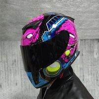 JIEKAI motorcycle helmet male personality cool full face helmet cover four seasons summer general safety motorcycle off-road helmet