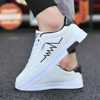 Skate shoes 2021 designer Sneakers Men Casual Shoes Leather Zapatillas White Vulcanized Lace Up Comfortable 's Plate 0918