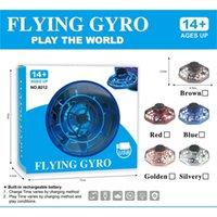 ZK20 Mini Drone UFO Voando Fidget Spinner Operado Mão de Indução Controle Remoto Aeronaves Brinquedos para Crianças Quadrocopter Dropship q0423