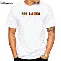 스리랑카 나라 국립지도 플래그 재미있는 Nevelty 티셔츠