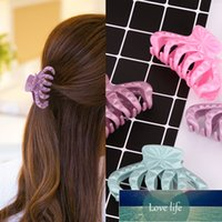 Hot New Simple Fashion Large 9cm Resin Candy Colors Clip Bangs Hairgrip Women Girl Barrette Hair Accessories Headdress Wholesale