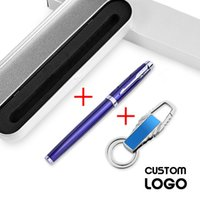 Ballpoint Pens High Quality Engraved Metal Personalized Wedding Favors Baby Shower Party Customalized Business Logo Gift