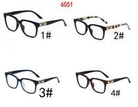 Square Sunglasses Frames Retro flat Frame Sun Glasses For Women man Gafas Shade Mirror Clear Lens Designer styles 4 colors 10PCS fast ship