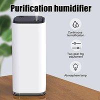 Car Air Freshener Purifier With LED Lights Cleaner For Home Office Kitchen Bedroom Desk NJ88