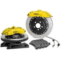 6-Kolben-Frontbrems-Kit mit geschlitzten Rotatoren für BMW 325 2010-2021
