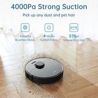 Aspirateurs en stock Dreame Bot L10 Pro Robot Nettoyant Superbe navigation de lidar, 4000Pa aspiration, 150ms Charge automatique