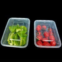 Disposable Take Out Containers 10Pcs Transparent Reusable Bento Box Meal Storage Takeaway Microwave Container With Lid Consumer And Com