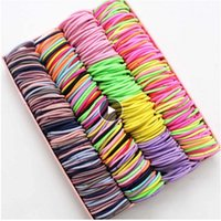 3CM Hair Accessories girls Rubber bands Scrunchy Elastic Hair Bands kids baby Headband decorations ties Gum for hair