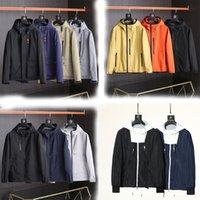 Homens Mulheres Design Jaquetas Primavera e Outono Casual Ao Ar Livre Quente Negócios Com Capuz Zíper Com Capuz Jaqueta Homens Sportswear