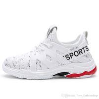 Retail big kids shoes korean girls white canvas sport running shoes youth boys basketball shoes size 5 girls designer shoe Kids Sneakers