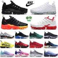 air vapormax airmax TN plus running shoes entrenadores para hombre triple negro blanco atlanta juego Royal abejorbee criado zapatillas deportivas al aire libre Tamaño 36-47