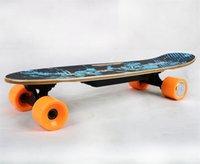 [EU instock] HT-S2 Smart Skateboard 4 Wheels Electric Longboard Double Motor With Digital Remote Control Small Fish Plate