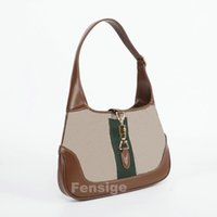 Jackie 1961 Hobo Underarm Mini Bag Beige Frauen Luxurys Designer Umhängetaschen Tote Geldbörsen Crossbody Womens Handtasche 19 cm 28cm