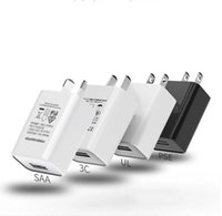 5V 1A 2A USB Charger Adapter Japan AU Travel Wall SAA PSE Certification Electronic Plug Stable black white