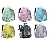 Backpack Transparent Space Pet Breathable Panoramic Cat Dog Astronaut Handbag Outdoor Carrier For Travel Hiking
