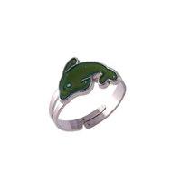 Bague d'humeur de poisson pour femmes anneaux dames accessoires de mariage bijoux