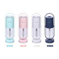 Tragbarer Luftbefeuchter 200ml Ultraschall ARO MA ätherischer Öldiffusor USB Cool Nebelhersteller Purierer für Auto nach Hause