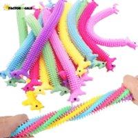 24 시간 DHL Unicorn String String Fidget 장난감, 치료 감각 장난감 불안 짜내다 어린이와 어른을위한 원숭이 국수 adhd fy27