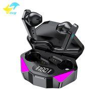 X15 TWS Auricolari Ali Phantom Game Cuffie Mini True Wireless Stereo Earbuds HiFi Sound Sports Auricolare con microfono staccabile