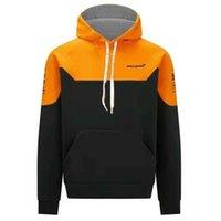 Sweatshirts F1 Formule One Équipe McLaren DR3 Golfe Huile Co-Branded Blue Sweat Sweat Sweat à capuche pour hommes et femmes Spring automne Jumpers Sweats à capuche P726