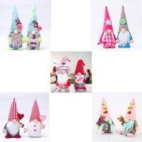 파티 장식 얼굴이없는 드워프 그놈 부활절 어머니의 선물 gnomes 봉제 휴일 인형 발렌타인 데이 집 숲 노인 장식품