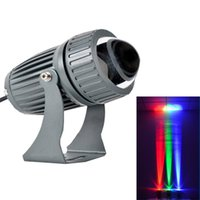 Holofotes 100-240V 10W LED Luz de Inundação Wall Wall Waterproof Beam Lamp Landscap
