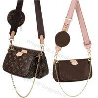 2021 femmes luxuries designers sacs à bandoulière cuir embrayage cuir classique sacs à main + sac de portefeuille fourre-tout Pruse Tassel Coin Pursards Pochette Mini 3PCS